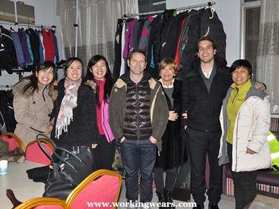 work wear partners of Bowins Garment